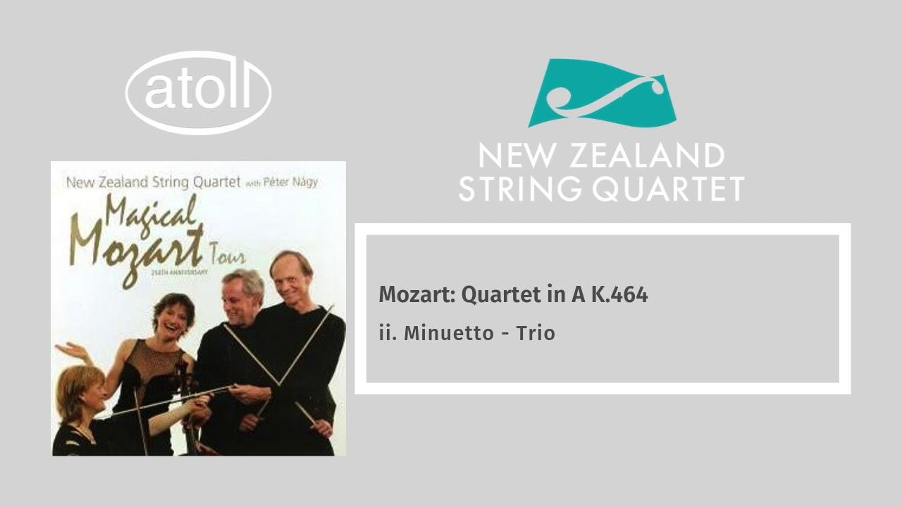 Mozart: String Quartet in A K.464 - ii. Minuetto - Trio