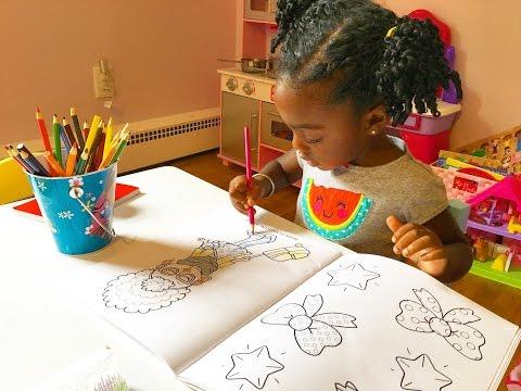Toddler Coloring In Kids Coloring Book