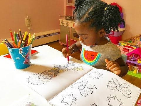 Thumbnail: Toddler Coloring In Kids Coloring Book