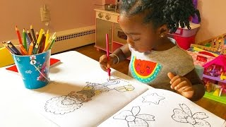 Toddler Coloring In Kids Coloring Book