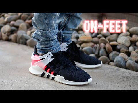 ADIDAS EQT SUPPORT ADV 'TURBO PINK' [ON-FEET+REVIEW]