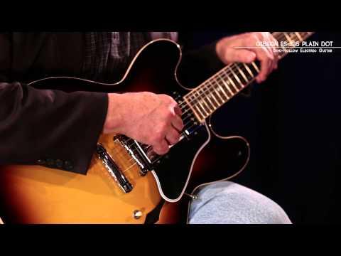 Gibson ES-335 Dot Plain-top Electric Guitar