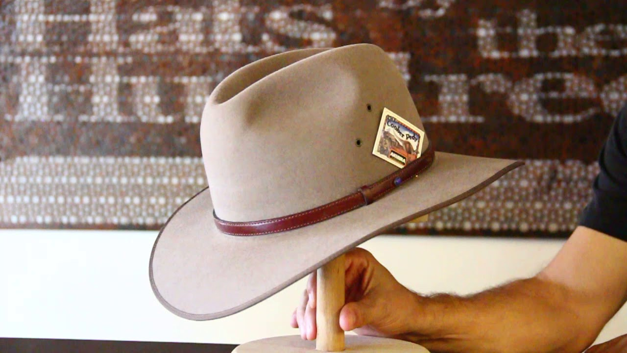 1c46bc9dafc Akubra Coober Pedy Bran Hat- hats by the Hundred - YouTube