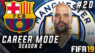 FIFA 19 Barcelona Career Mode EP20 - Pep Guardiola vs S2G!! Champions League Semi-Final!!