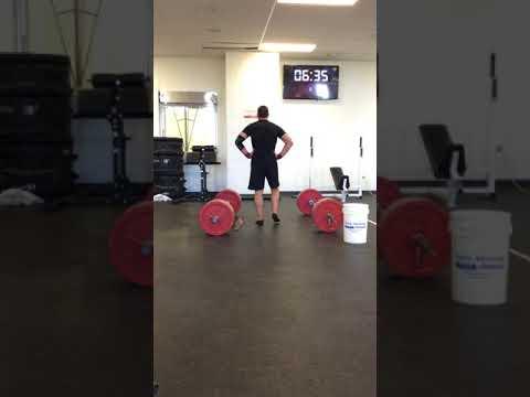 Tyler Hansen CrossFit open 18.