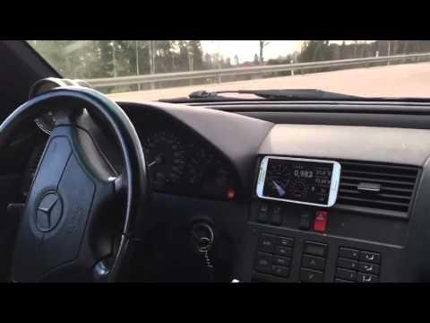 M104 turbo  0 150 km/h