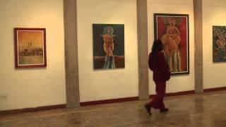 Exposición pictórica Nuntis a Vita del pintor otavaleño Diego Buitrón