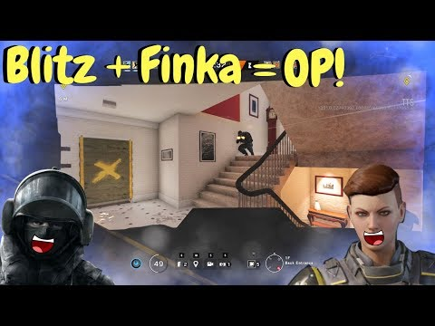 Blitz is Broken! - Rainbow Six Siege (TTS Gameplay)