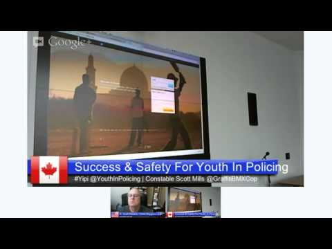 Youth In Policing Success & Safety Talk #YiPi @YouthInPolicing
