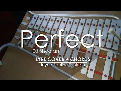 Perfect - Ed Sheeran - Lyre Cover