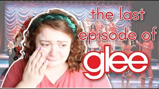 glee stan watches the final episode for the first time!