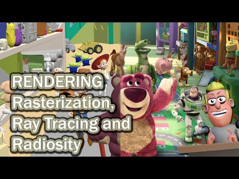What is Rendering? | Rasterization, Ray Tracing, Radiosity