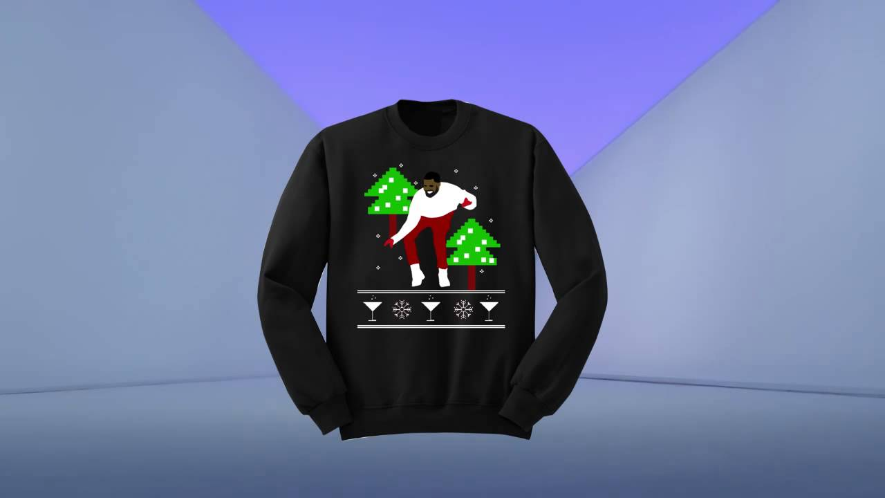 Ugly Drake Christmas Sweater 1-800 Hotline Bling UNISEX 1-800 ...