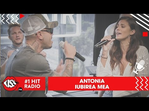 Antonia - Iubirea mea (Live @ Kiss FM)