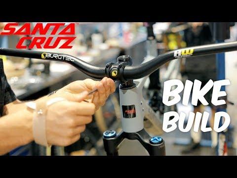 MTB BIKE BUILD Santa Cruz Bronson Carbon C