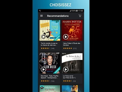 Audible Livres Audio Podcasts Applications Sur Google Play