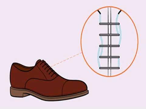 Красивая Шнуровка Ботинок С 3 Дырками