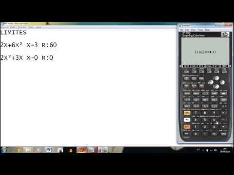 Limites HP50G