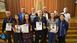 Gomel 2017. European Draughts Disabilities Championship. Closing ceremony