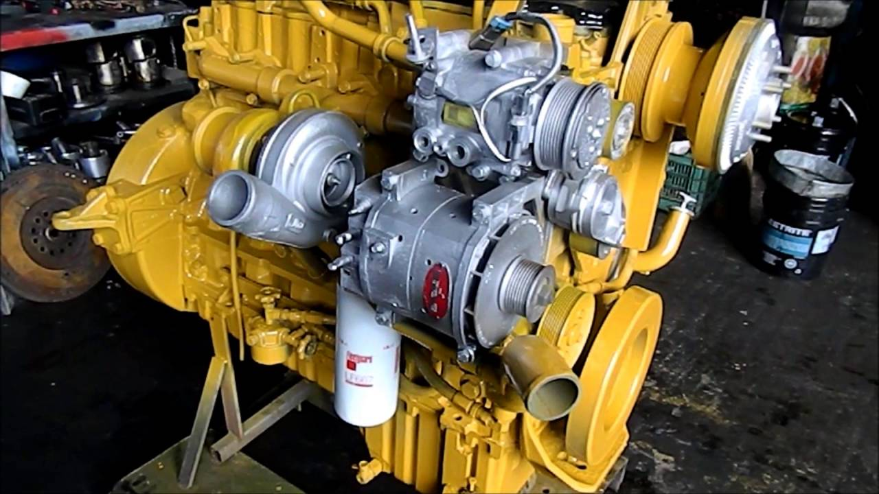 hight resolution of motor caterpillar c7