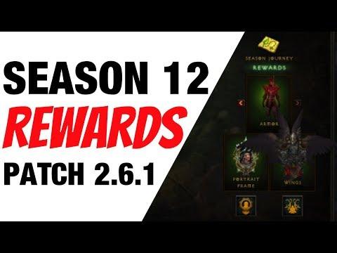 Download Youtube: Diablo 3 Season 12 Rewards Patch 2.6.1