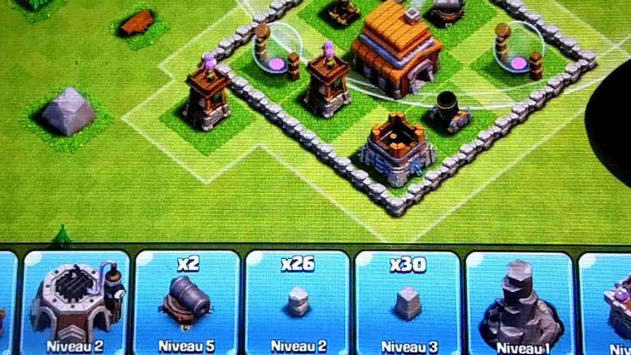 Comment faire un bon village Hybride Hdv LvL 6 Clash of Clans Comment faire un très bon village défencif avec un HDV LvL 5 sur Clash of Clans Nouvelle technique d'attaque sur Clash Of Clans!!!!!!!!!!