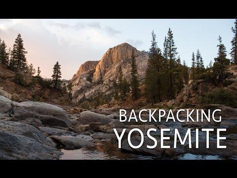 Backpacking to Glen Aulin & Waterwheel Falls in Yosemite National Park
