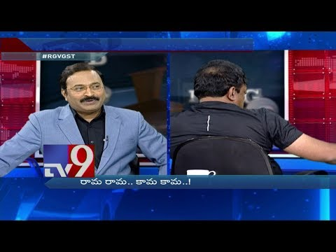 TV9 Rajinikanth funny satire on RGV on his bald head  Big  Big Debate