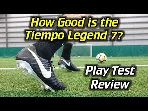 promo code 704fc cb4c1 Nike Tiempo Legend 7 Play Test + Free Kicks - Review - YouTube