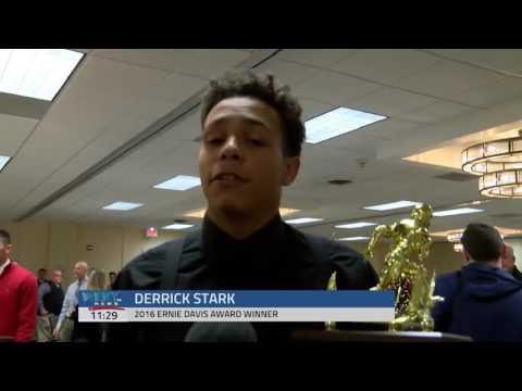 Derrick Stark Wins Ernie Davis Award