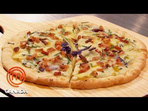 The Pizza Challenge ��| MasterChef Canada | MasterChef World