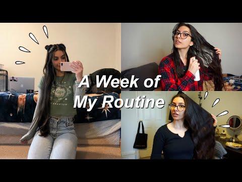 Weekly Hair Care Routine | Vlog ♡