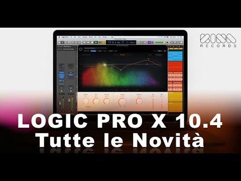 Logic Pro X 10.4 : Tutte le Novità (italiano)