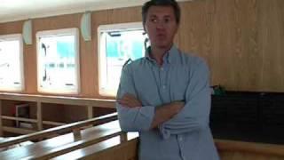 un trawler catamaran en contreplaqué marine, interview de Eric Levet (Architecte)