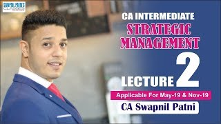 Strategic Management lecture 2| May/Nov 19| lets connect theory with practical world| swapnil Patni