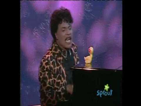 """Sesame Street - Little Richard sings """"Rubber duckie"""""""