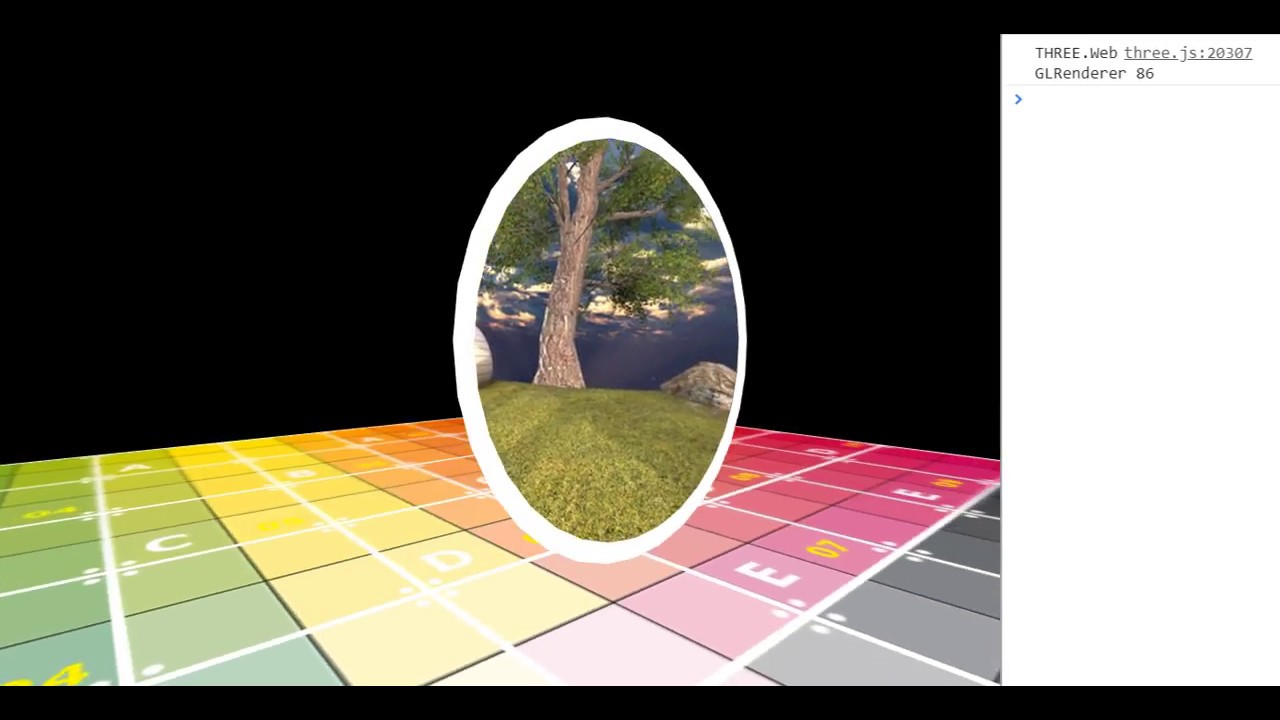 3D Portal Effect