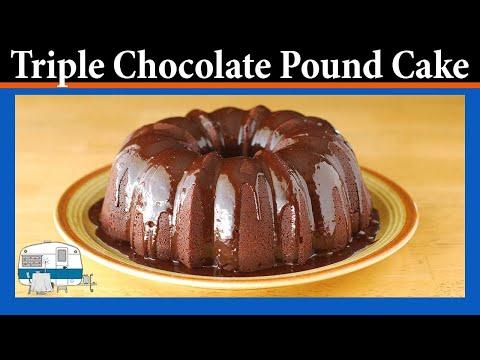 How to make a Triple Chocolate Pound Cake