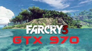 Far Cry 3 GTX 970 OC | 1080p Max Settings (8x MSAA) | FRAME-RATE TEST