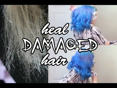 How to: Heal Ultra-Damaged, Brittle Hair | Stef Sanjati