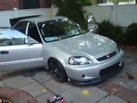 1996 Honda Civic Turbocharged Ej6 4 Door Overview Youtube