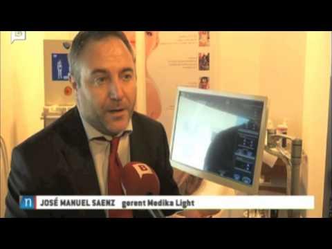 Cyclone de  Medikalight en la Television de Barcelona