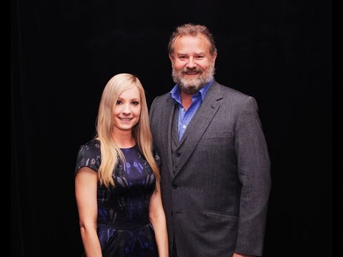 Hugh Bonneville and Joanne Froggatt: Downton Abbey