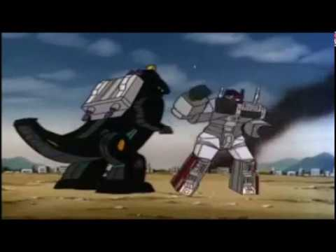 Clash of the Titans - All Metroplex vs Trypticon battles from Transformers G1