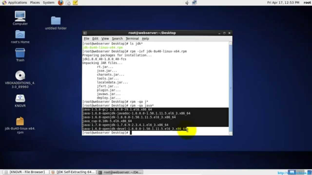 Installing Java Runtime Environment (JRE) in Linux