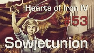 Let's Play Hearts of Iron 4 - Sowjetunion #53:Reorganisation (gameplay / deutsch)