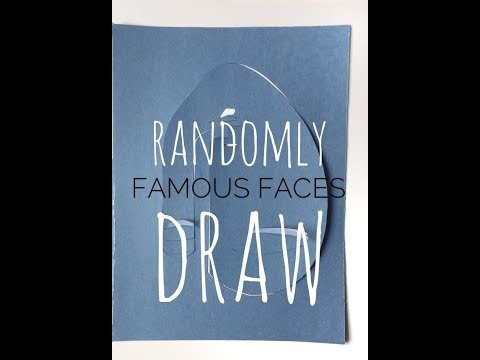 PICASSO'S FAMOUS WORKS DRAWN || FAMOUS FACES