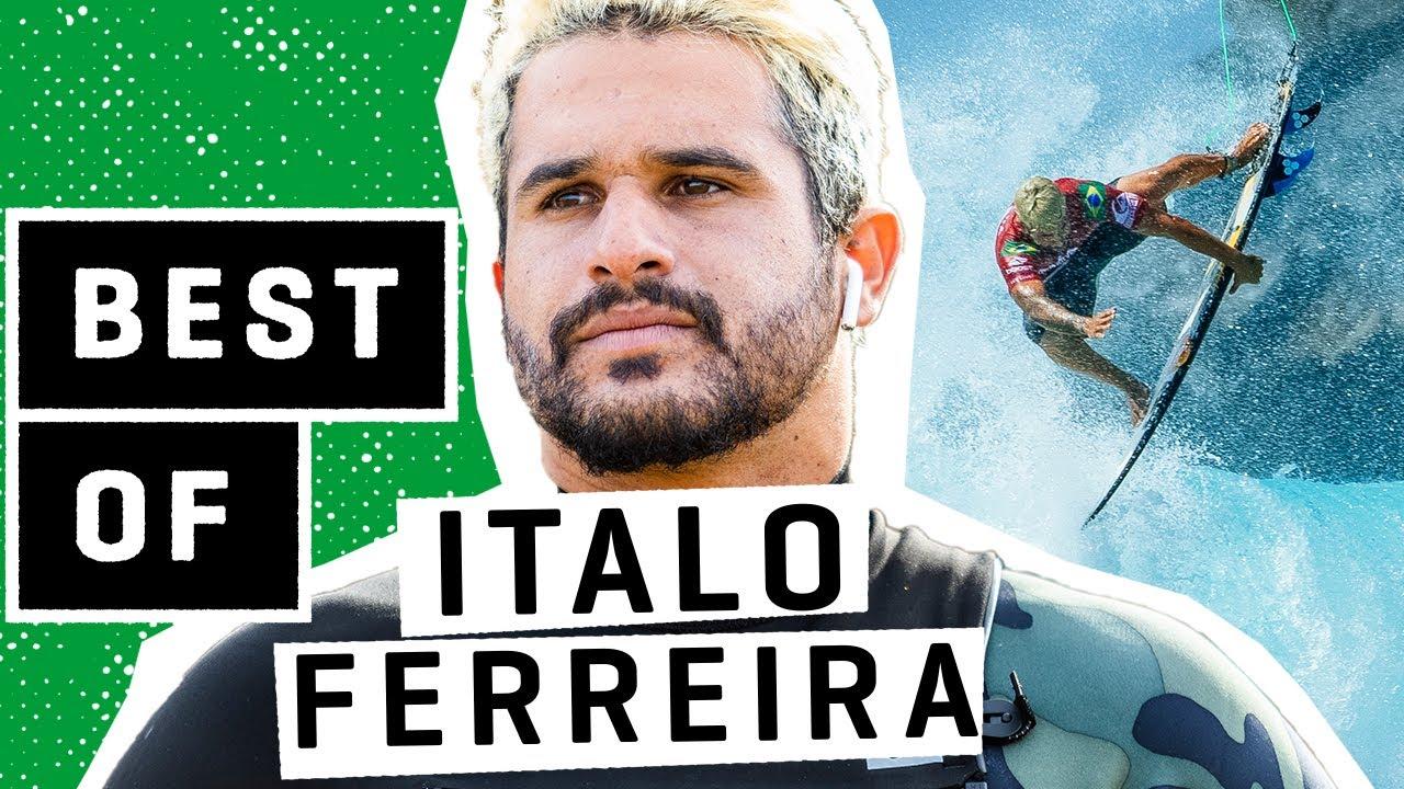 O MELHOR DE ITALO FERREIRA - Destaques da WSL