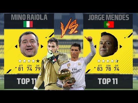Team MINO RAIOLA VS Team JORGE MENDES! Partite Epiche