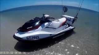 SeaDoo GTI130 jetski fishing